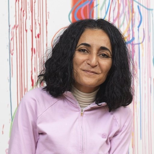 Paris In The Fall Wallpaper Ghada Amer Feminist Provocateur Of Middle Eastern Art On