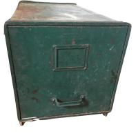 Industrial Metal Single Drawer Storage File Cabinet - AptDeco
