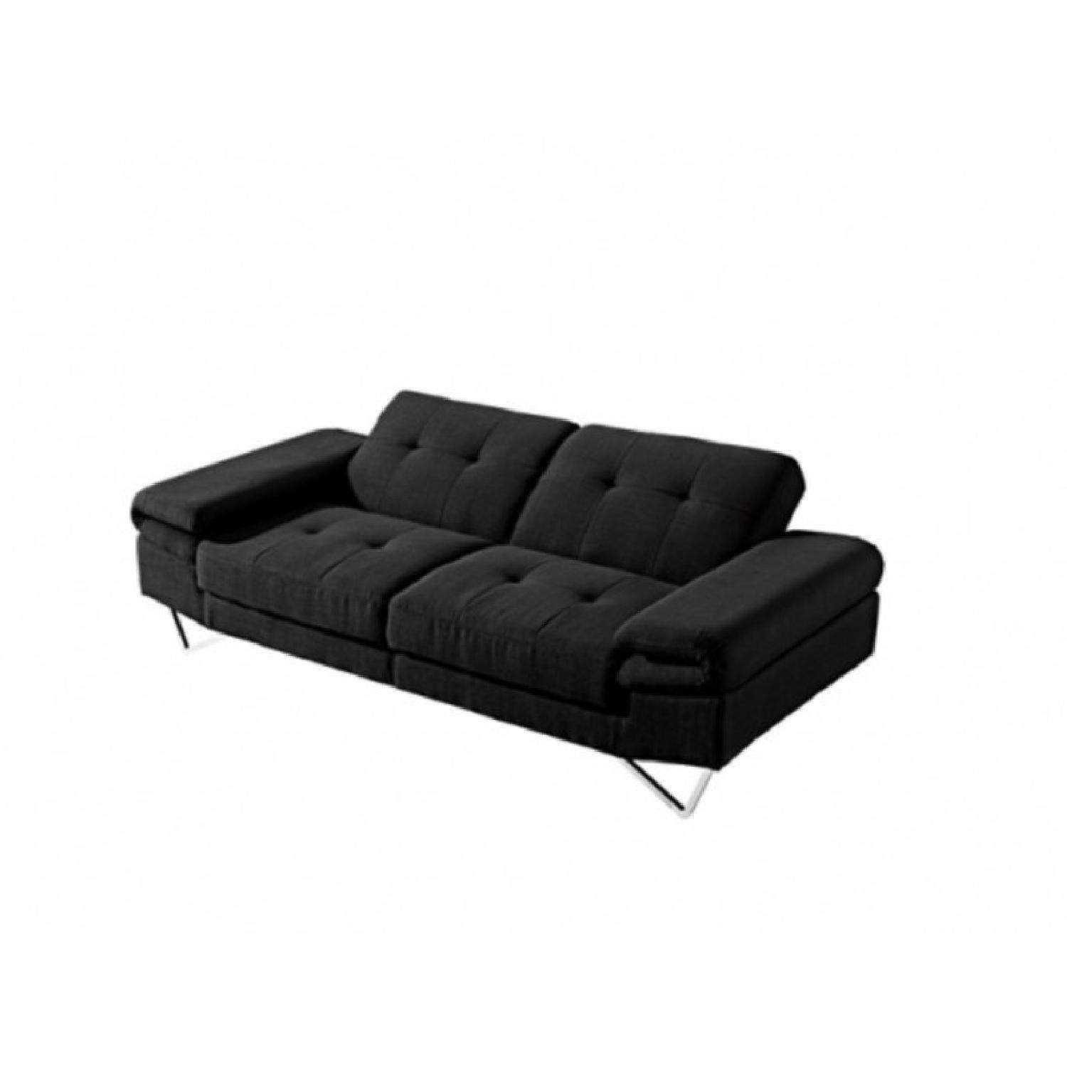 Smart Sofa The Smart Sofa Black Leather Sofa Bed Aptdeco