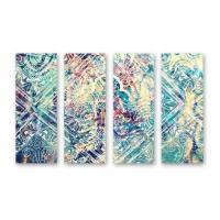 Oliver Gal 4 Panel Wall Art - AptDeco