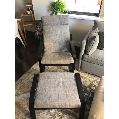 Medium Crop Of Ikea Poang Chair