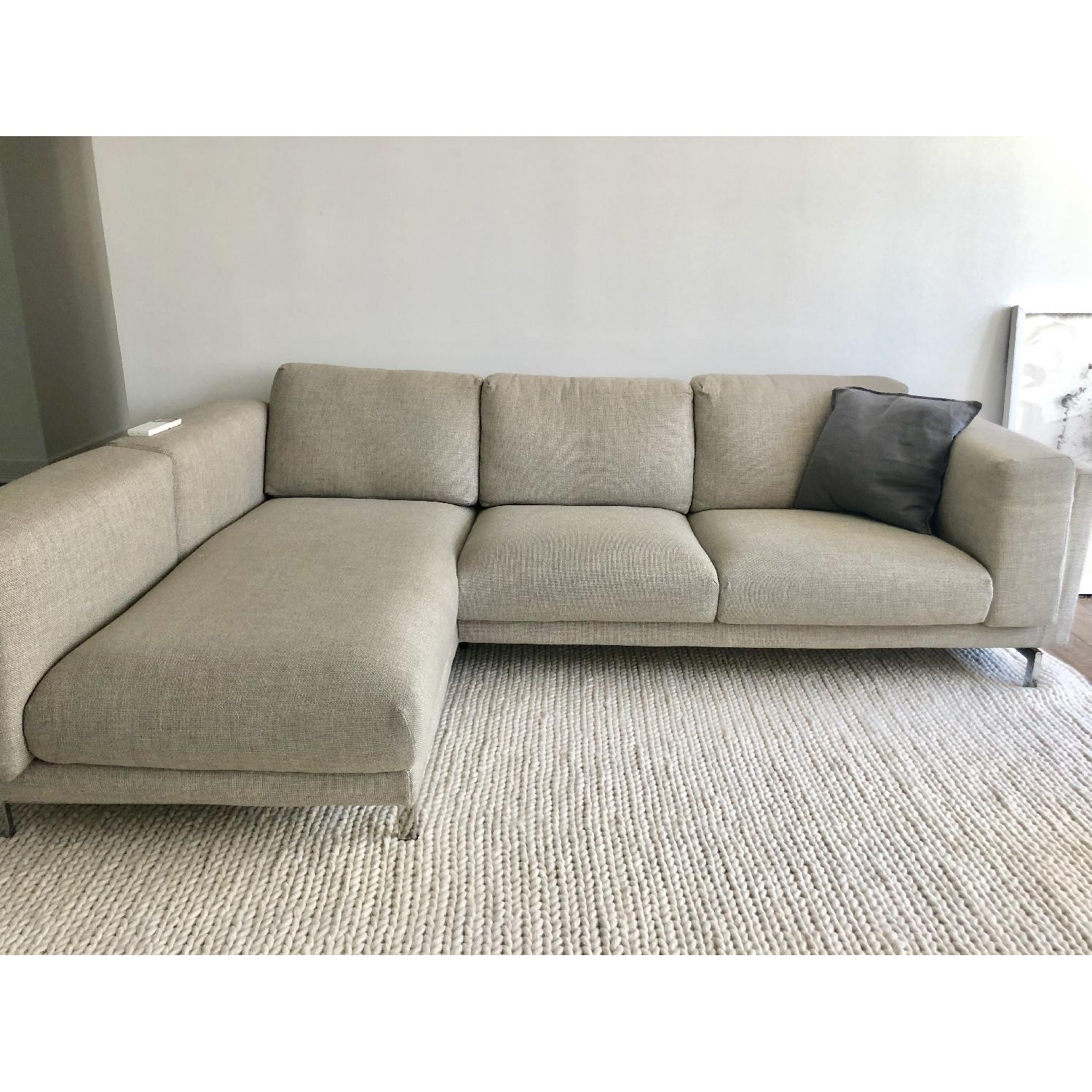 Sofa Ikea Chaise Ikea Nockeby Sectional Sofa W Left Chaise