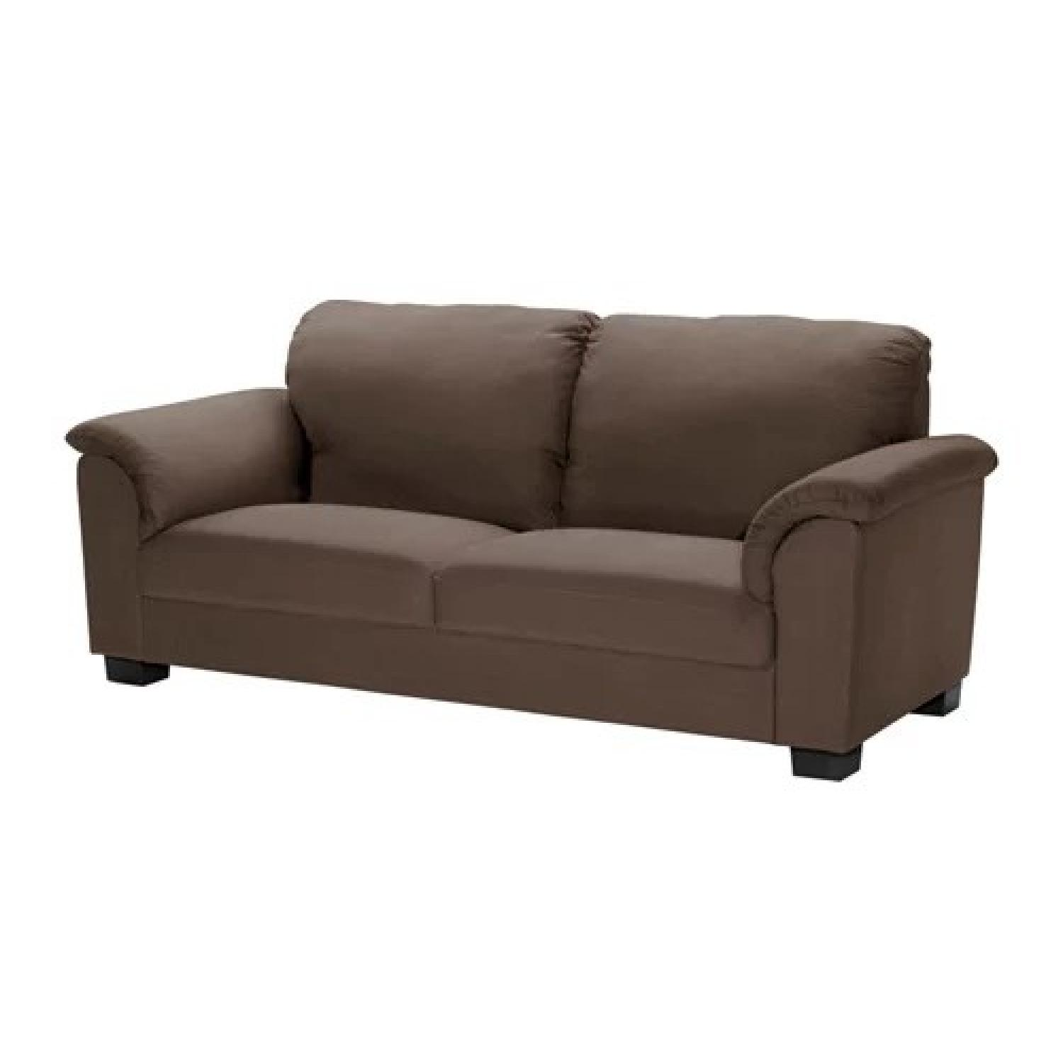 Bettsofa Ikea Blau Ikea Karlstad Brown Sofa Aptdeco