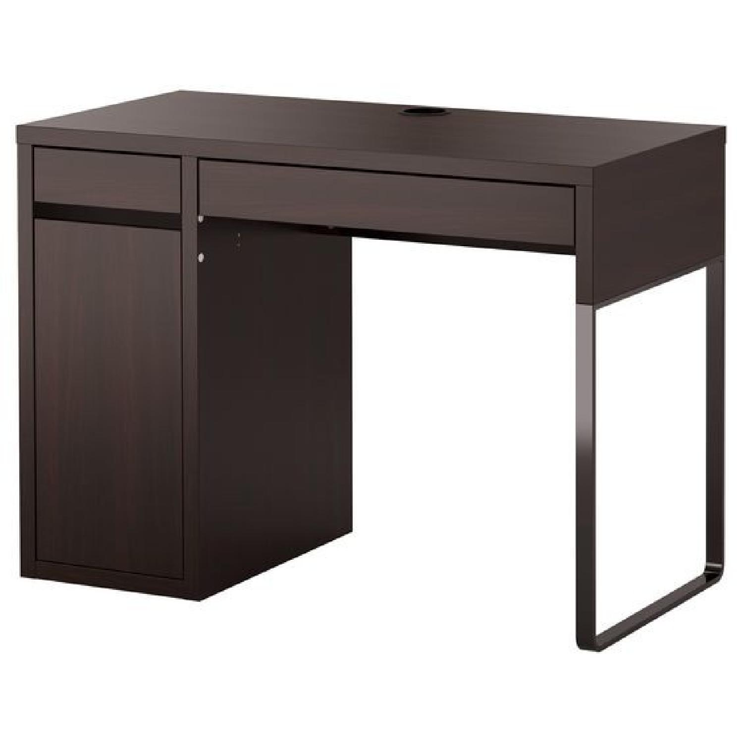 In Cabinet Drawers Ikea Micke Desk W 2 Drawers 1 Cabinet