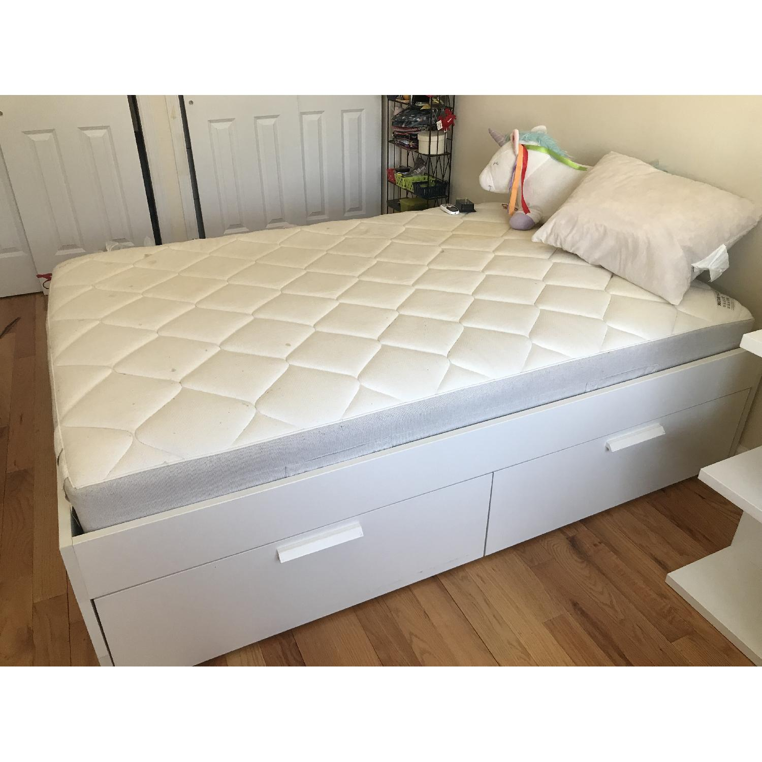 Ikea Full Size Bed Frame Ikea Brimnes Full Size Bed Frame W Storage