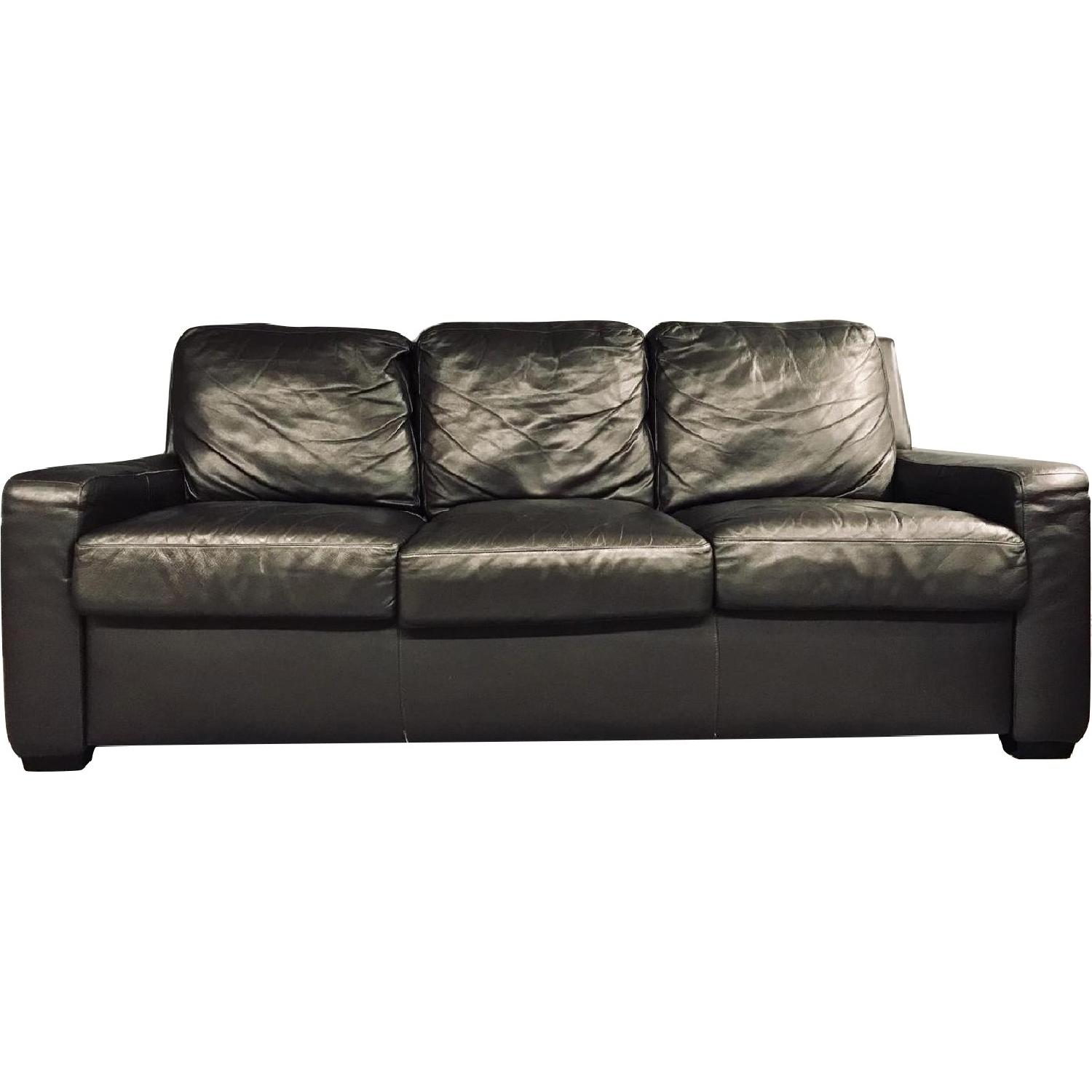 American Sofa Images American Leather Queen Plus Sleeper Sofa