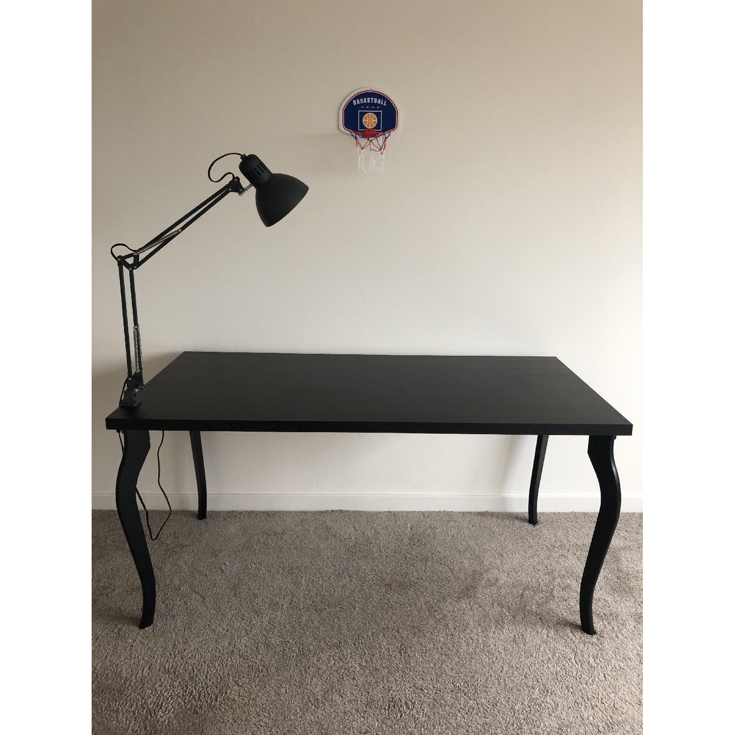 Linnmon Ikea Linnmon Lalle Black Desk