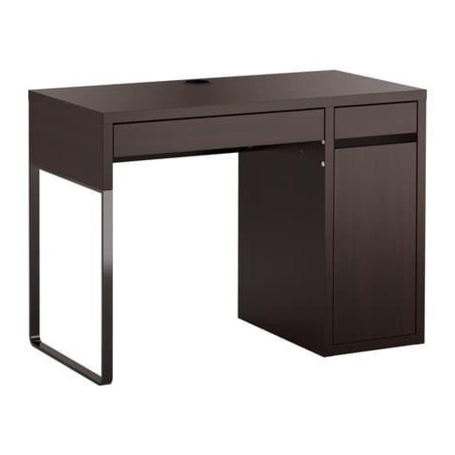 Ikea Table Ikea Micke Black Study Desk Flintan Swivel Chair