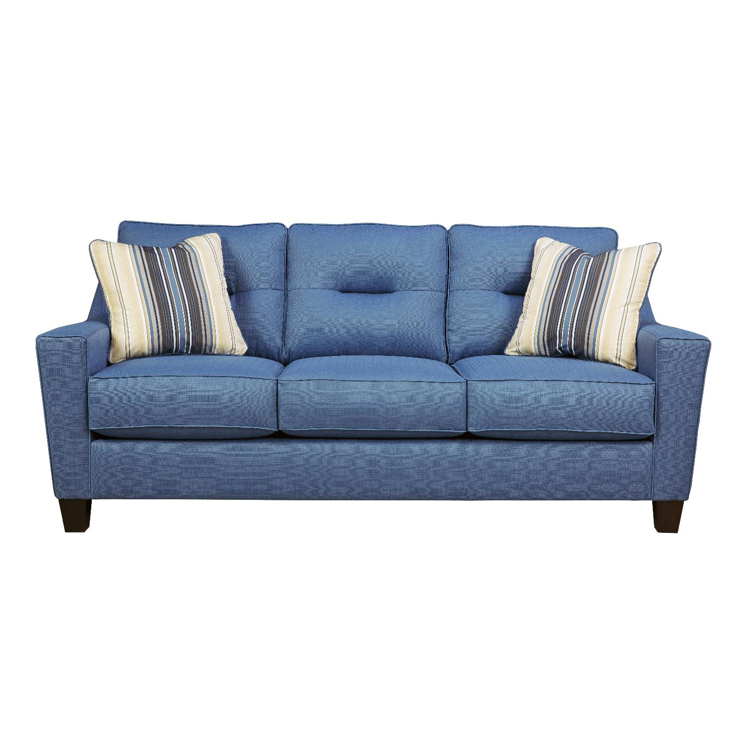 Sofa Set Price Rate Ashley 39s Blue Nuvella Sofa Aptdeco
