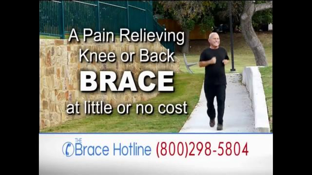Philips Spot The Brace Hotline Tv Commercial, 'severe Back And Knee