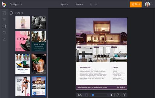 Flyer Maker Online Flyer Templates By BeFunky - advertisement flyer maker