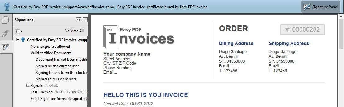 Edit Magento PDF Invoice - Magento PDF Invoice Pro Extension
