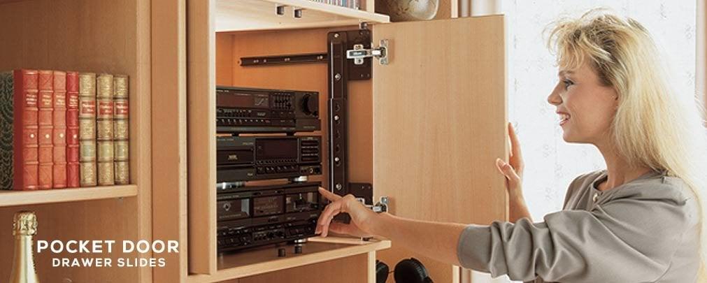 Pocket Door Slides Cabinetpartscom