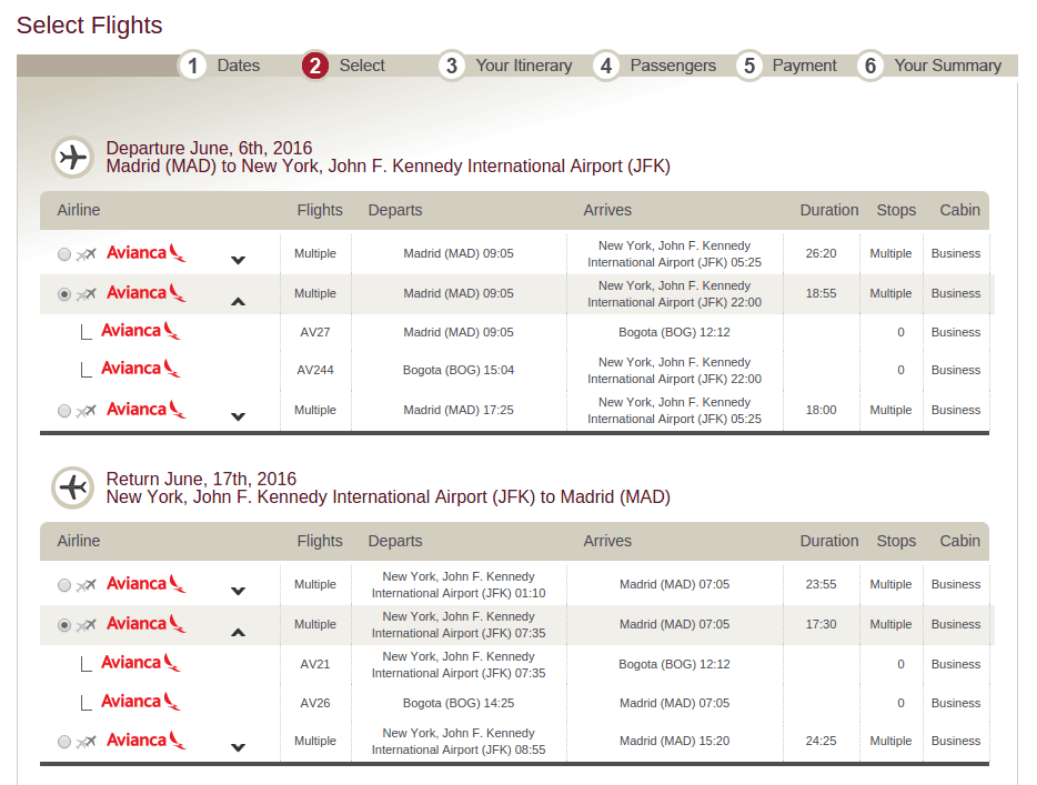 Miles And More Book Flight How To Book An Avianca Lifemiles Award
