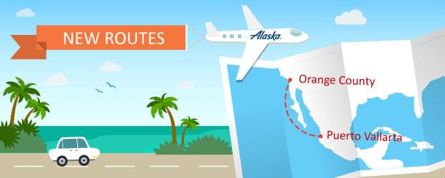 Fly From Orange County to Puerto Vallarta on Alaska Airlines