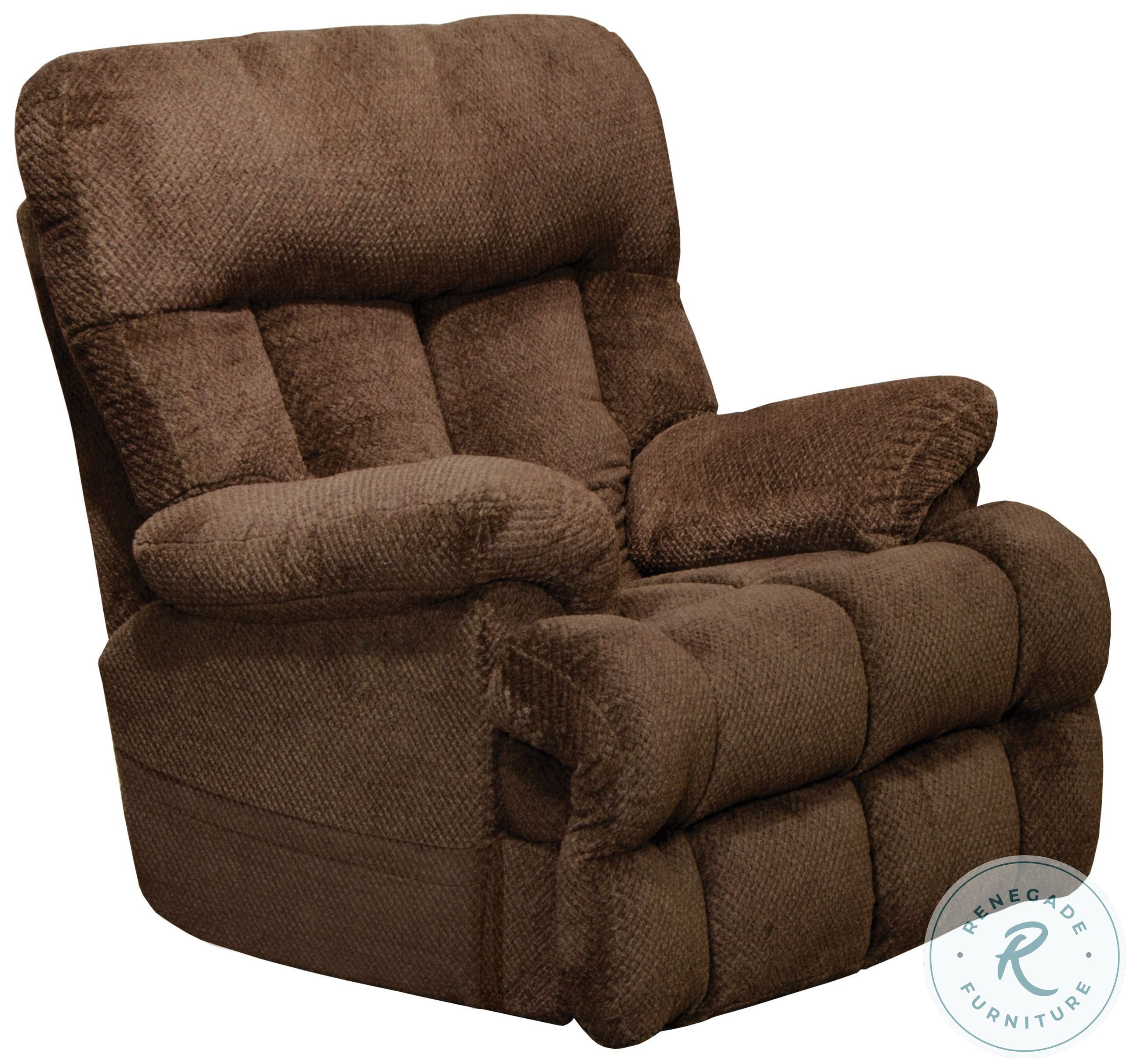 Ludden Cocoa Rocker Recliner From Ashley 8110425 Coleman Furniture