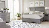 Transitional Estonian Grey Panel Bedroom Set from Stanley ...
