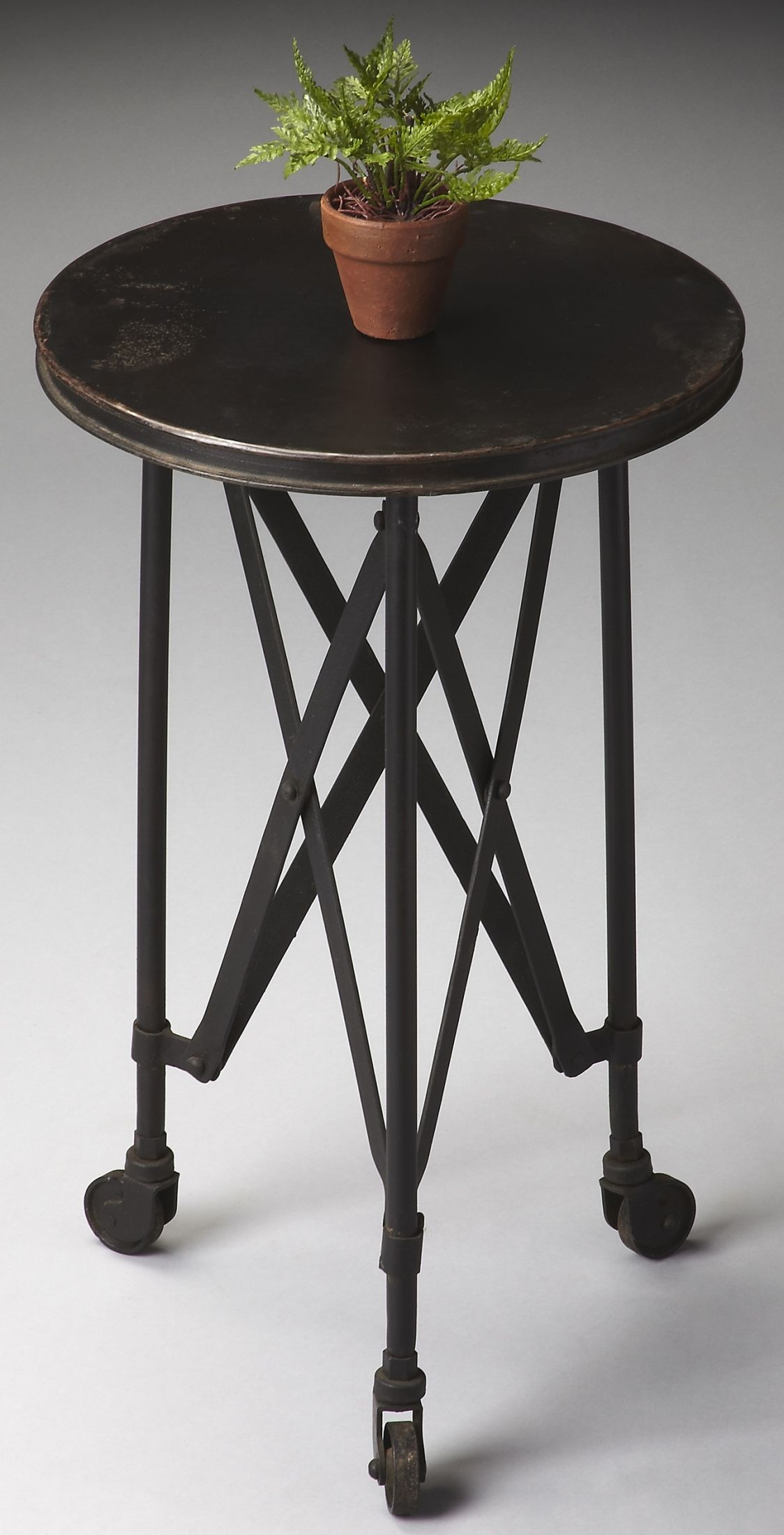 Industrieel Sidetable 1168025 Industrial Chic Metalworks Accent Table From