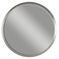 Serenza Round Silver Mirror from Uttermost (14547 ...