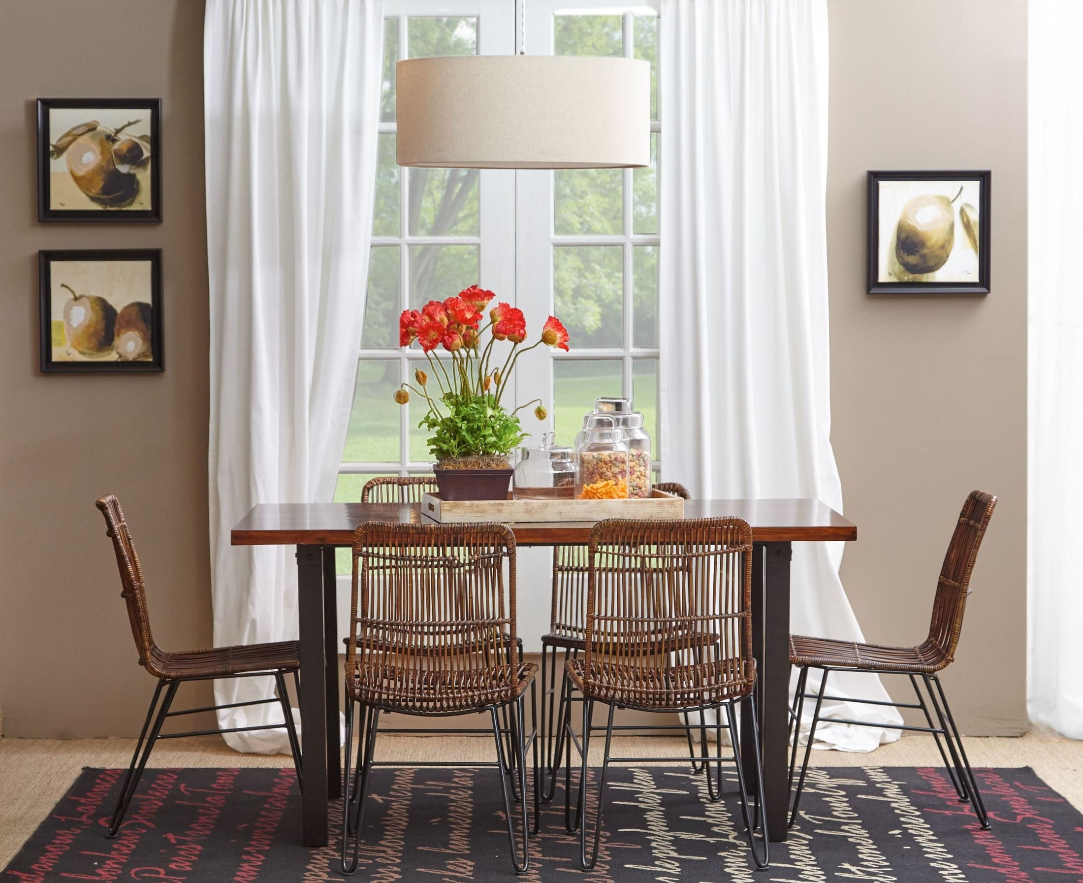 Urban Dweller Wood and Metal Dining Room Set from Jofran