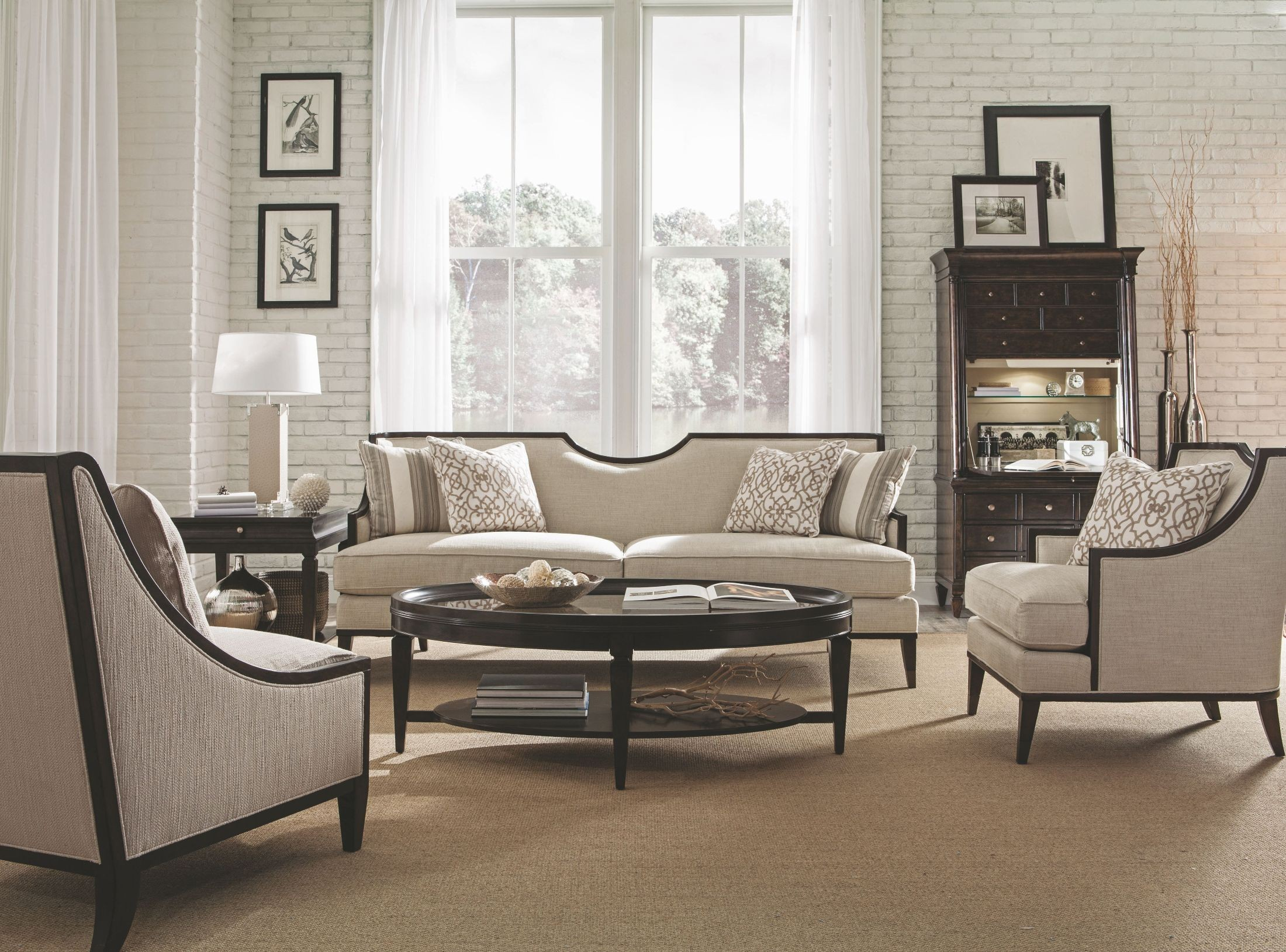 Living Room Furniture Ivory Sofa Harper Ivory Living Room Set From Art Coleman Furniture