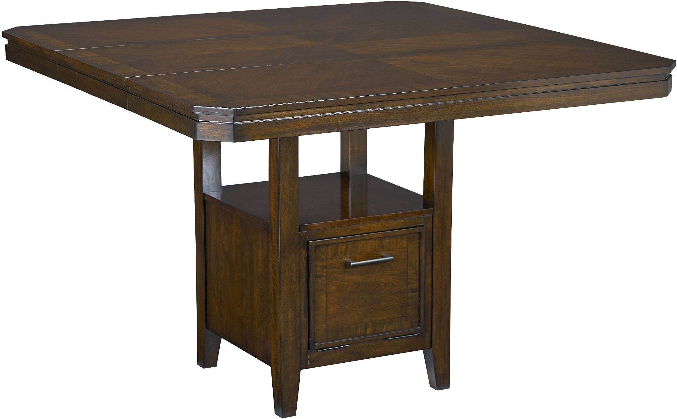 Avion Walnut Counter Height Dining Table From Standard