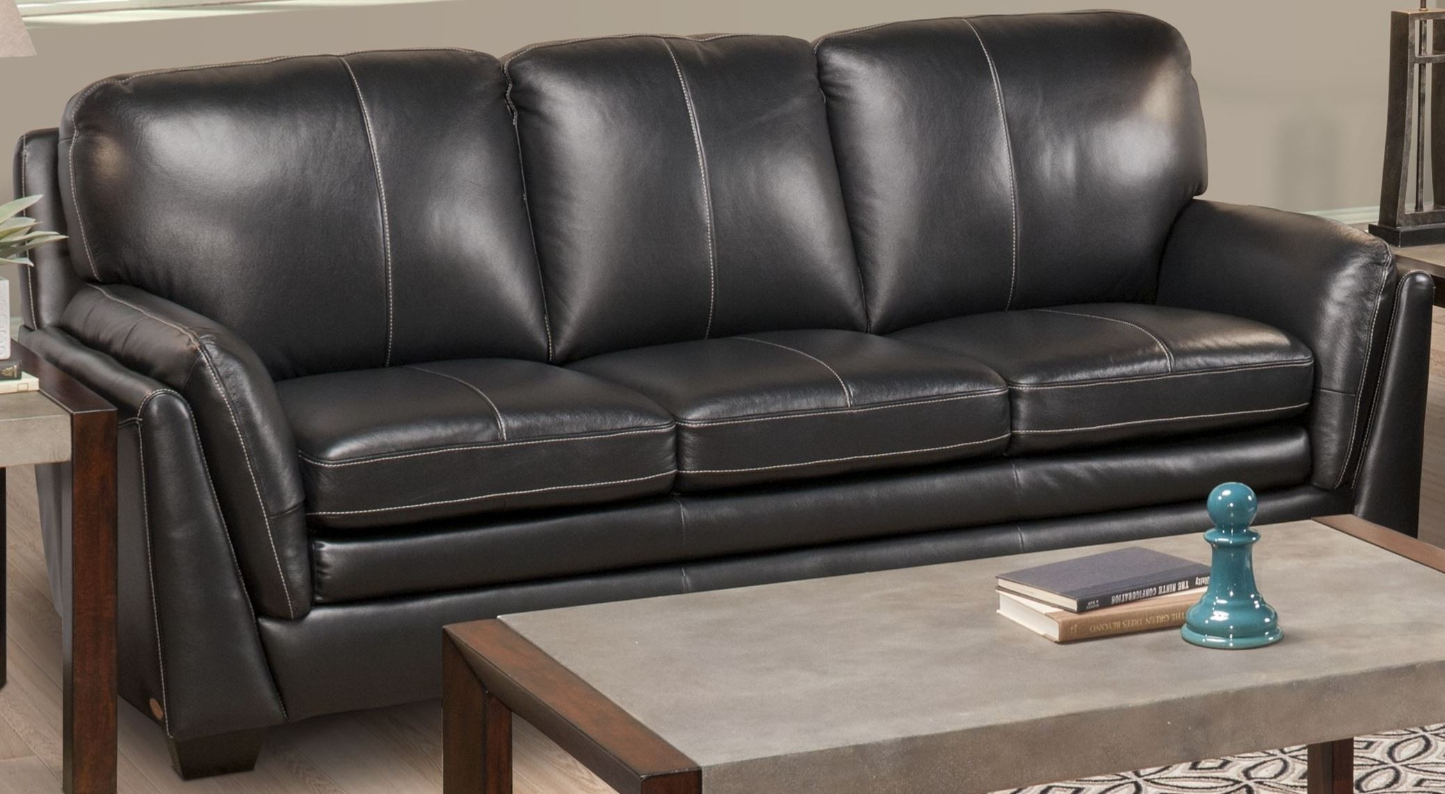 Sofa Gianni Gianni Gray Sofa From New Classic | Coleman Furniture