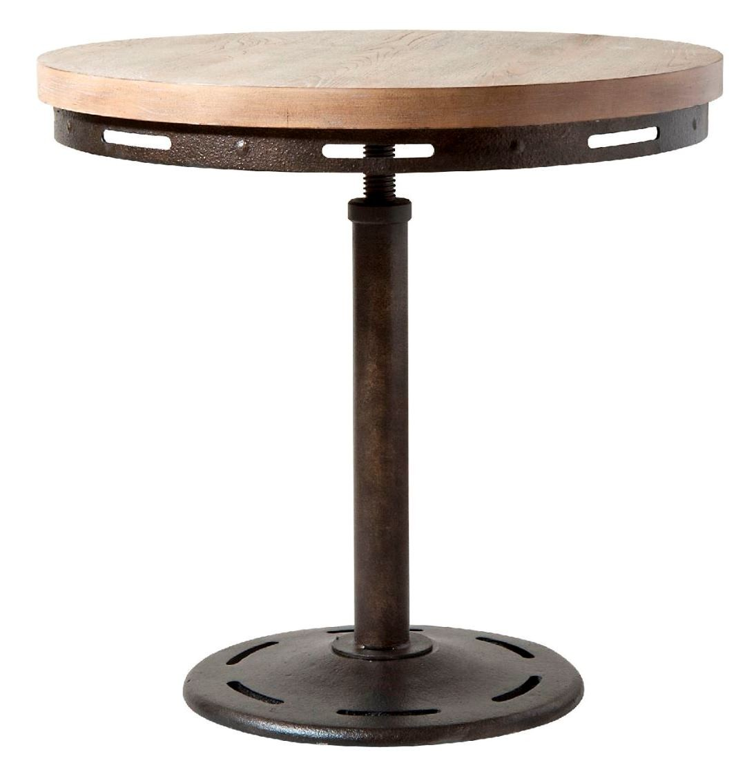 Mechanica Wood Metal End Table From Steinworld 251 021