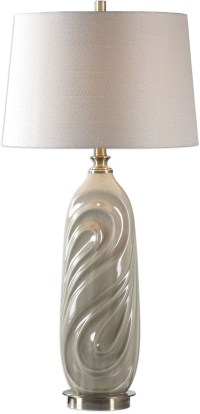 Griseo Sage Gray Table Lamp from Uttermost | Coleman Furniture