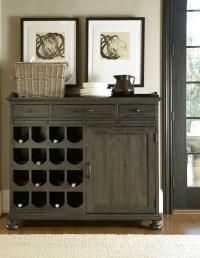 Berkeley3 Brownstone Small Wine Cabinet from Universal ...