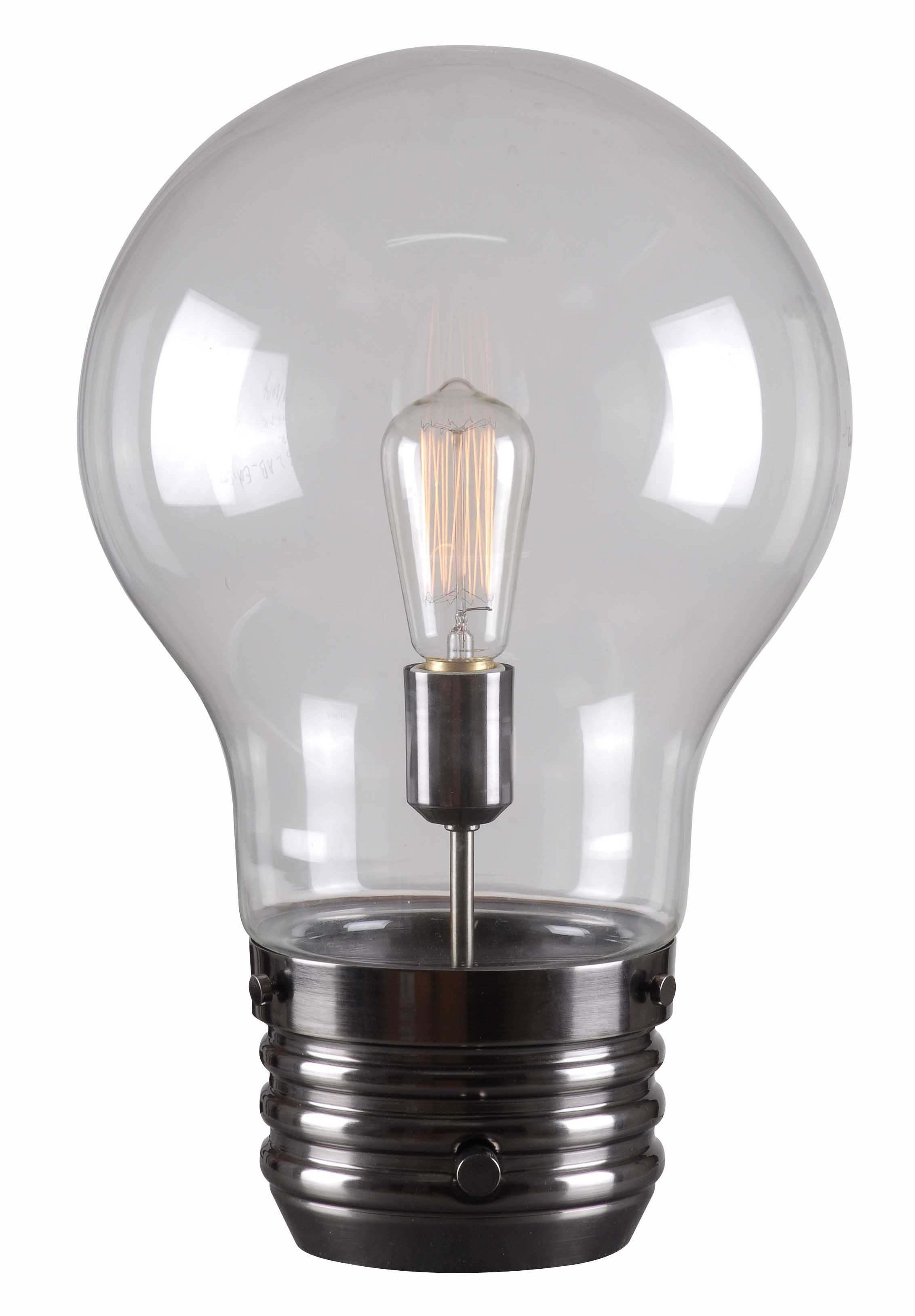 Edison Table Lamp from Kenroy (32462AB)