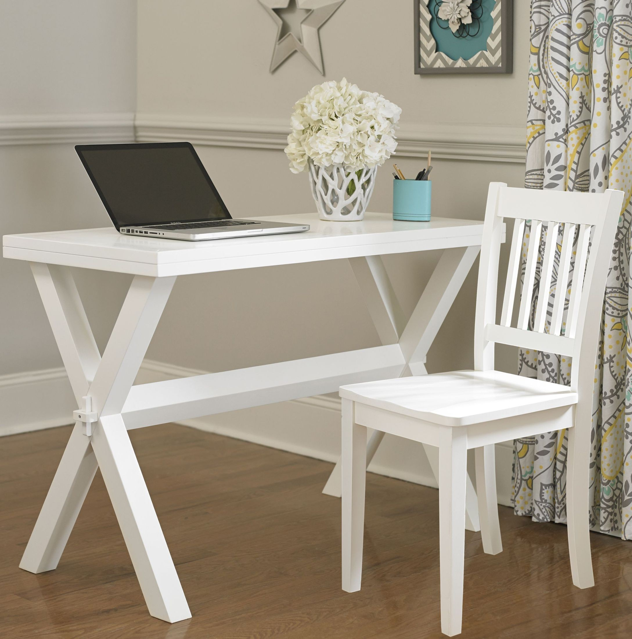 White Desk And Chair Pulse White Desk And Chair From Ne Kids Coleman Furniture