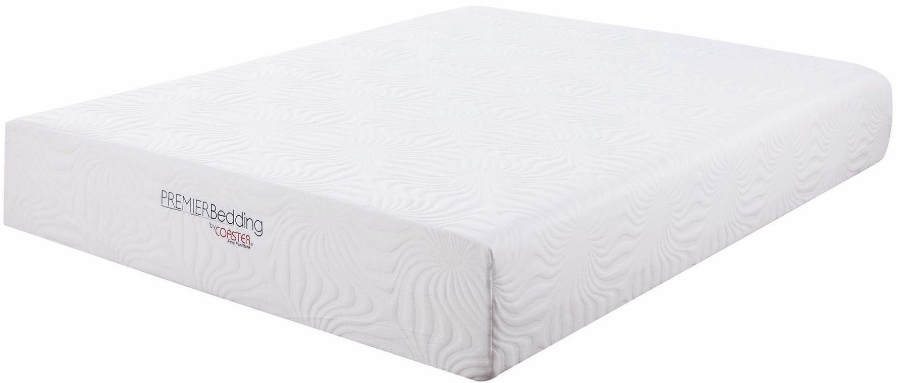 Ian 12quot Queen Memory Foam Mattress 350065q Coaster Furniture