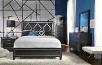 Alexis Gray Panel Bedroom Set, 353-600KQ, Casana