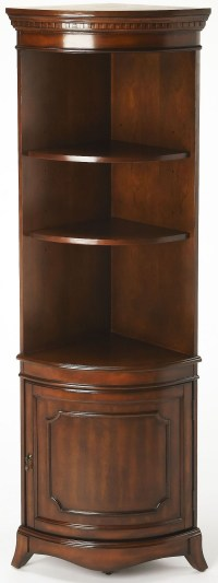 Dowling Plantation Cherry Corner Cabinet, 3621024, Butler