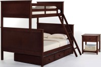 School House Cherry Youth Trundle Bunk Bedroom Set from NE ...