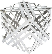 Carlisle Aluminium Accent Table from Zuo | Coleman Furniture