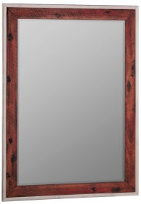 Clovis Stainless Steel Frame Mirror, 41076, Cooper Classics
