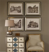 English Cottage Wall Art Set of 4 from Uttermost (41366 ...