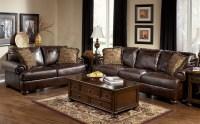 Axiom Walnut Living Room Set from Ashley (42000) | Coleman ...