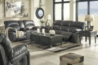 Dunwell Steel Power Reclining Living Room Set from Ashley ...
