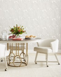 Coastal Living Oasis Oyster Venice Beach Round Dining Room ...