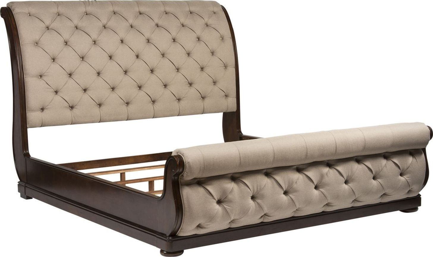 Sofa Parade Santa Rosa Cotswold Queen Upholstered Sleigh Bed