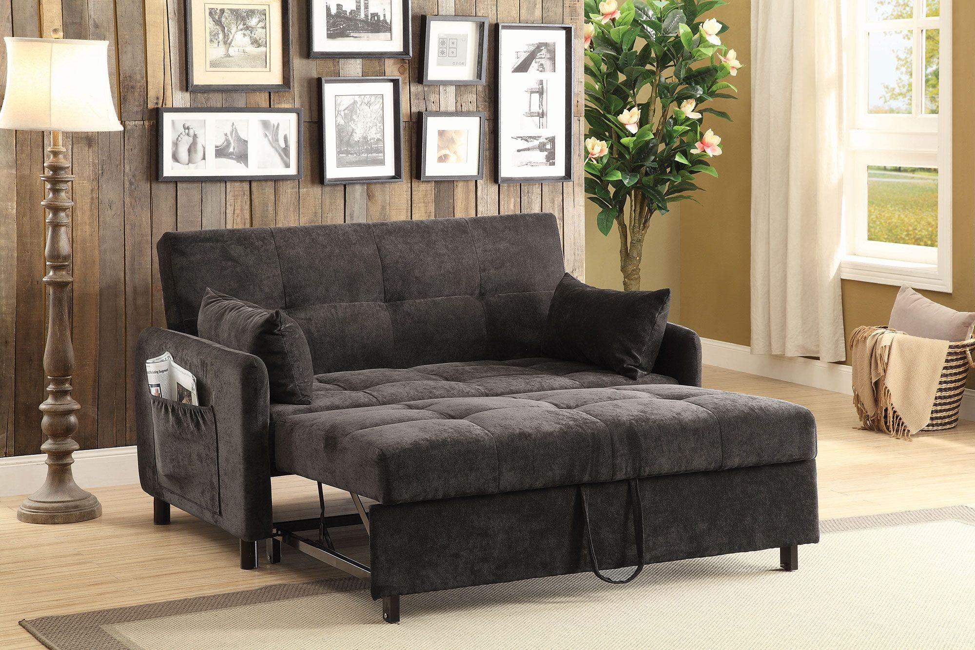 Dark Brown Couch Dark Brown Sofa Bed From Coaster Coleman Furniture