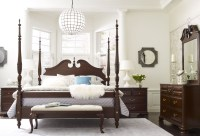 Hadleigh Rice Carved Poster Bedroom Set, 607-324P, Kincaid