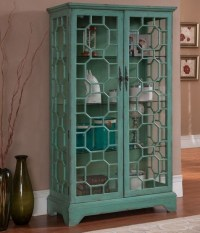 Bayberry Blue Curio Cabinet, 67503, Coast to Coast