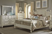 High Country White Poster Bedroom Set from Liberty (697-BR ...