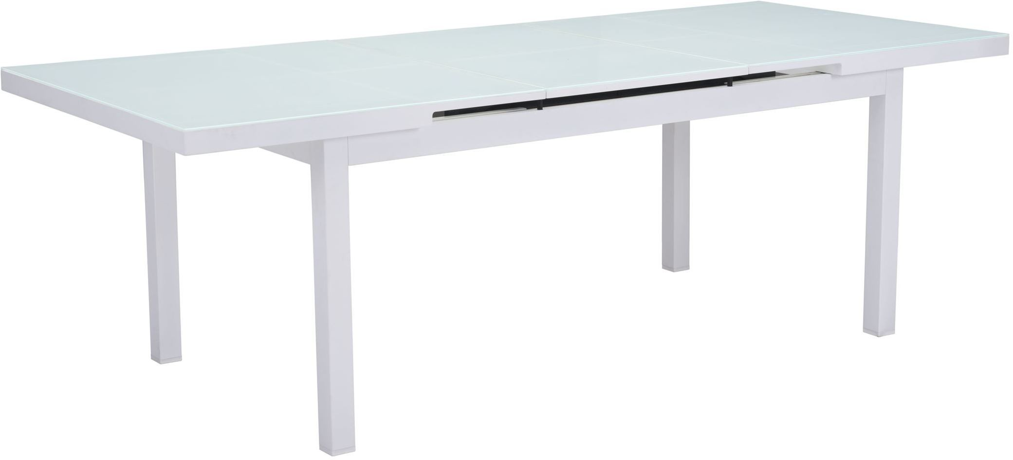 White Dining Table Extendable Mayakoba White Extendable Dining Table From Zuo Coleman