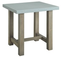 Concrete Top End Table from Coaster (704247) | Coleman ...