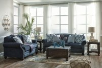 LaVernia Navy Living Room Set, 7130438, Ashley